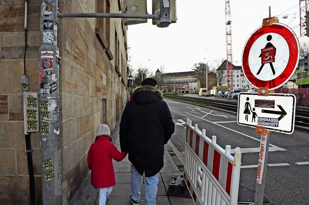 Die Stadt soll fußgängerfreundlicher werden. Foto: Georg Linsenmann