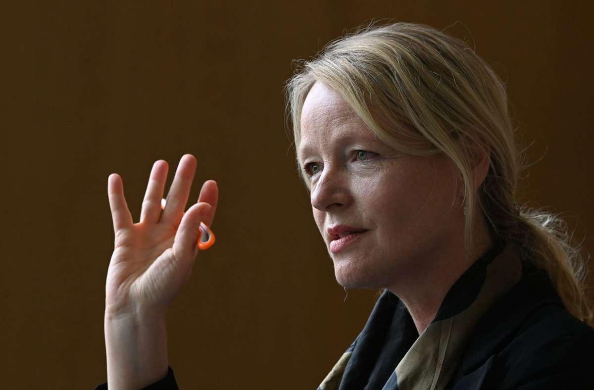 Thekla Walker, die neue Umweltministerin in der Landesregierung. Foto: dpa/Bernd Weissbrod