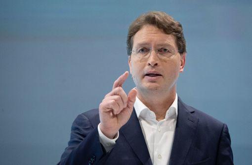 Daimler-Chef Källenius fordert Kaufprämie auch für Verbrenner