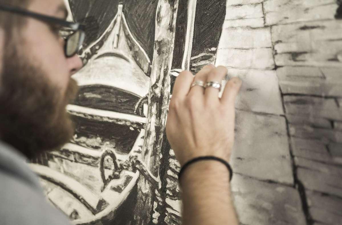 Moritz Dümmel aus Kernen  i. R. ist dabei, seinen eigenen künstlerischen Weg einzuschlagen. Foto: Andreas Dümmel