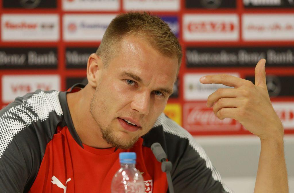 Will mit dem VfB schon bald durchstarten: Neuzugang Holger Badstuber Foto: Baumann