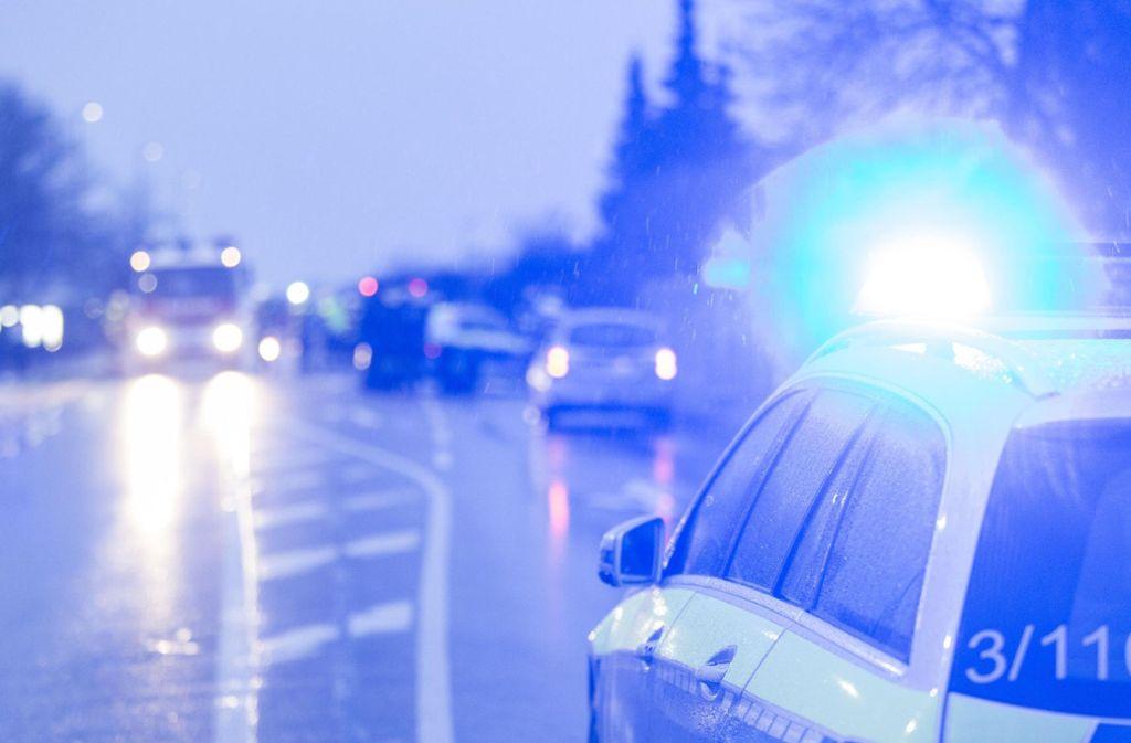 Auf der Mülbergerstraße in Esslingen kam es am Donnerstag zu einem heftigen Unfall. Foto: 7aktuell.de/Daniel Jüptner