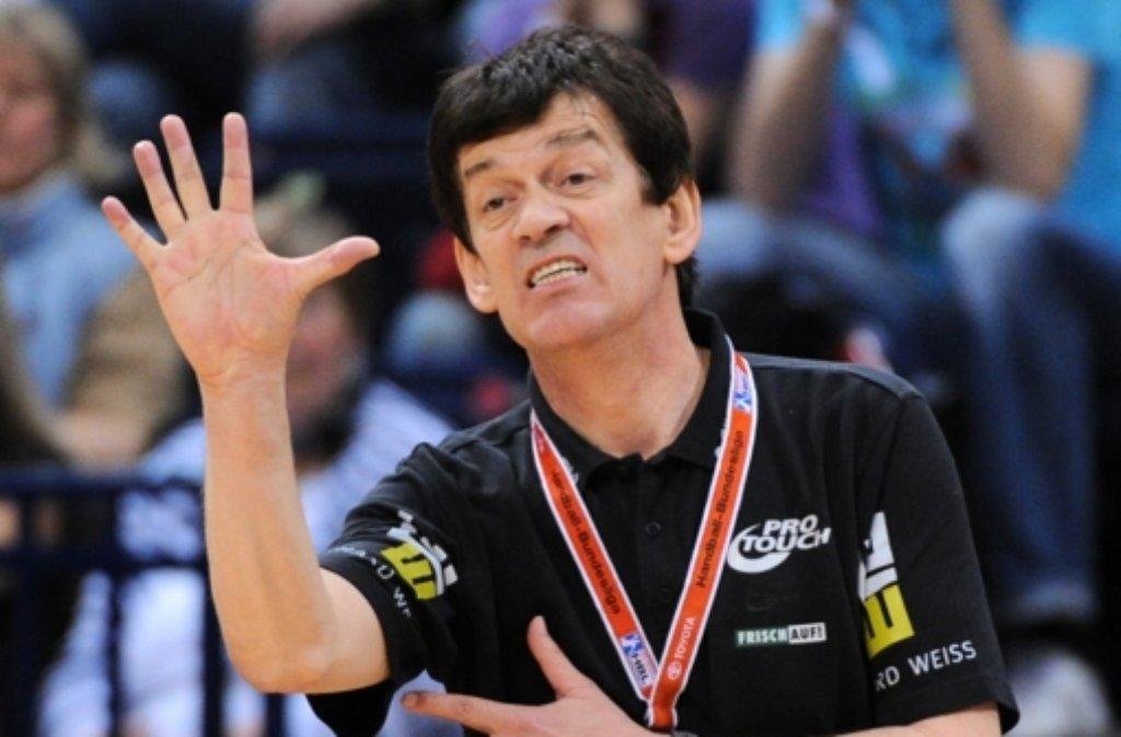 Velimir Petkovic ist nicht länger Trainer bei Frisch Auf Göppingen. Foto: dpa