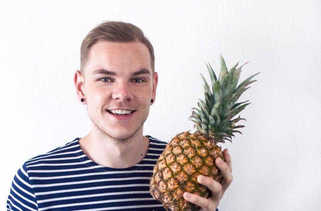 Foodblogger Marcel Buchstaller liebt es bei seinen Kreationen Früchte mit Deftigem zu kombinieren.  Foto: Marcel Buchstaller