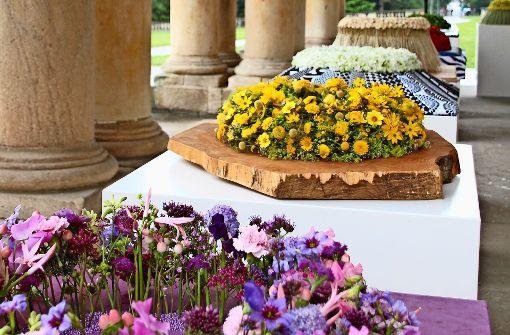 Blumenpracht im Schloss Hohenheim