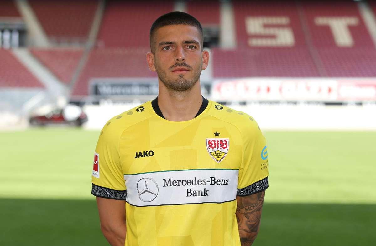 Fabian Bredlow (26, Torhüter, Vertrag bis 2024): 0,5 Mio. € [+0,1 Mio.] Foto: Alexander Keppler