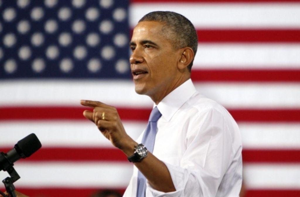 US-Präsident Obama hat Schwierigkeiten, seine Politik zu erklären. Foto: dpa