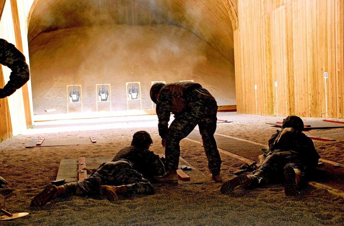 In Böblingen trainieren die US-Soldaten für ihre Einsätze in aller Welt. Foto: US-Army