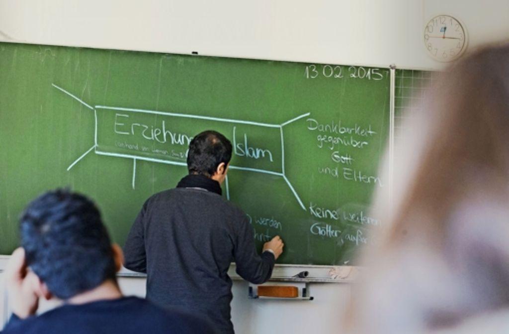 An vier Stuttgarter Grund- und Werkrealschulen wird zurzeit Unterricht im sunnitischen Islam erteilt. Foto: Lichtgut/Achim Zweygarth