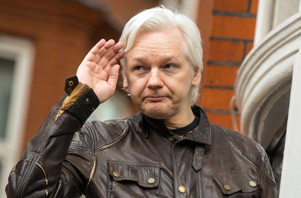 Julian Assange drohen bei einer Verurteilung bis zu 175 Jahre Haft. Foto: dpa/Dominic Lipinski