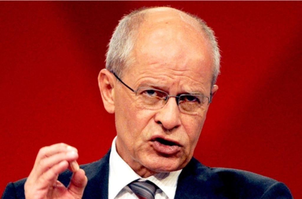 Berthold Huber hört als Gewerkschaftsvorsitzender Ende November auf, behält aber vorerst noch seine Aufsichtsratssitze bei Volkswagen und Siemens. Foto: