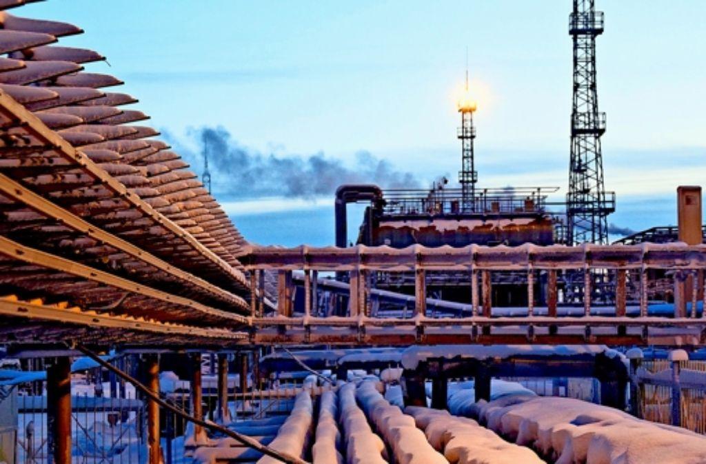 Der Gas-Riese Gazprom bekommt Gegenwind. Foto: Wintershall
