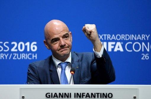 Der neu gewählte Fifa-Präsident Gianni Infantino Foto: Getty Images Europe