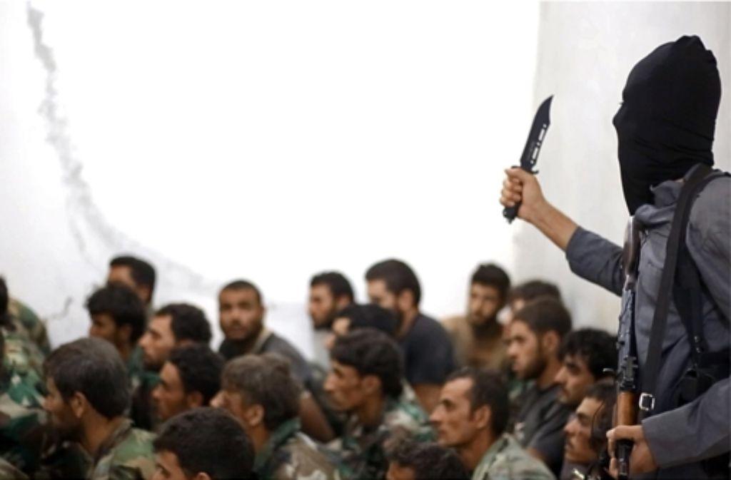 """Der """"Islamische Staat"""" terrorisiert  die arabische Welt. Foto: AP"""