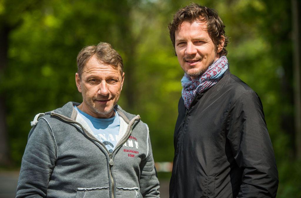Richy Müller und Felix Klare ermitteln im Stuttgarter Tatort. (Archivfoto) Foto: dpa