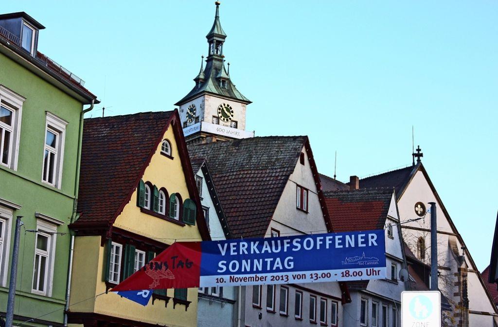 Beim diesjährigen Martinimarkt am 6. November  dürfen nur die Geschäfte in der Altstadt öffnen, das Carré Bad Cannstatt und die Seelbergstraße bleiben außen vor. Foto: Annina Baur
