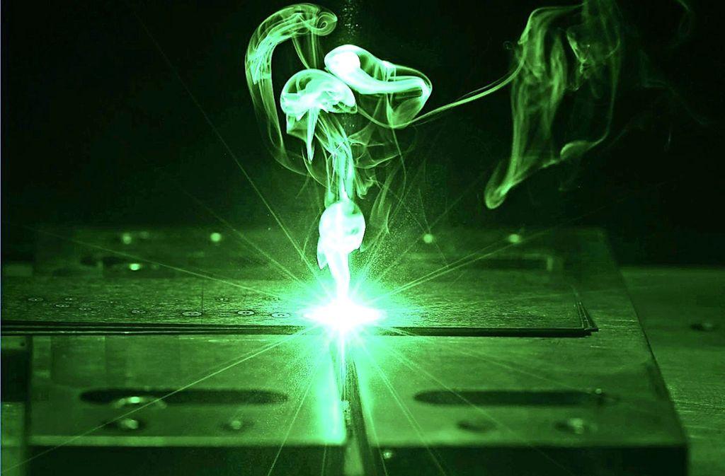 Der Laser ist für Trumpf seit vielen Jahren eine Schlüsseltechnologie. Foto: Trumpf