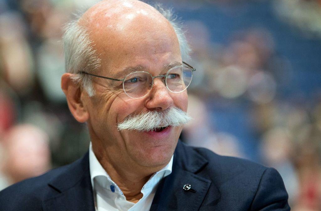Der Daimler-Chef Dieter Zetsche liegt bei den Top-Verdienern unter den Dax-Managern auf Platz Zwei. Foto: dpa