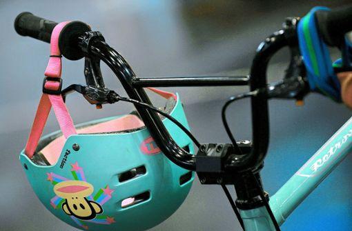 Zehnjährige baut auf Fahrrad ohne Bremsen Unfall