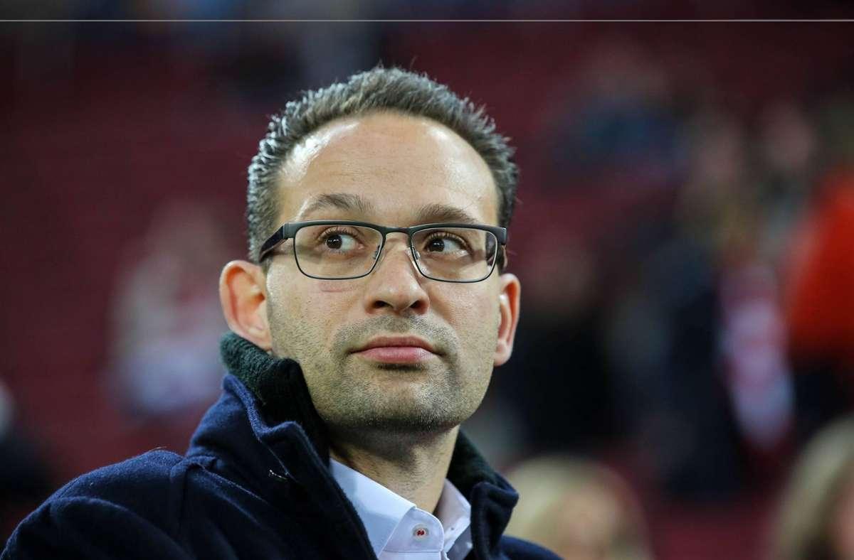 Tobias Kaufmann kommt als neuer Direktor Medien und Kommunikation zum VfB Stuttgart. Foto: imago/Eibner/Horn