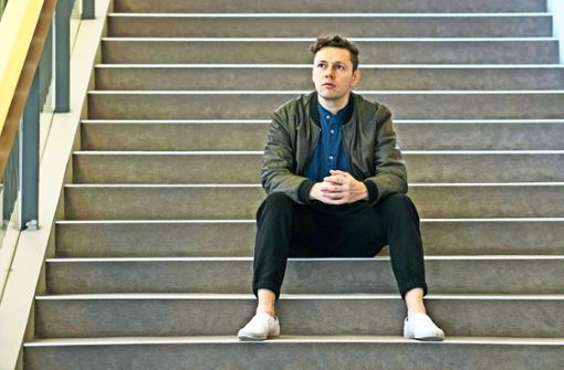 "Christian Friedel spielt Orwells ""1984"" in Stuttgart"