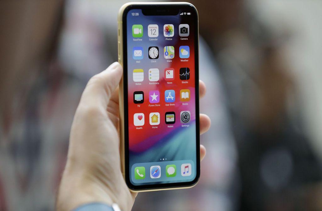 iPhone-Besitzer sollten sich das neues Software-Update herunterladen. Foto: AP