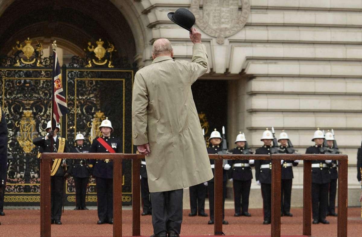 Goodbye, Prinz Philip! Foto: imago/PA Images/HANNAH MCKAY