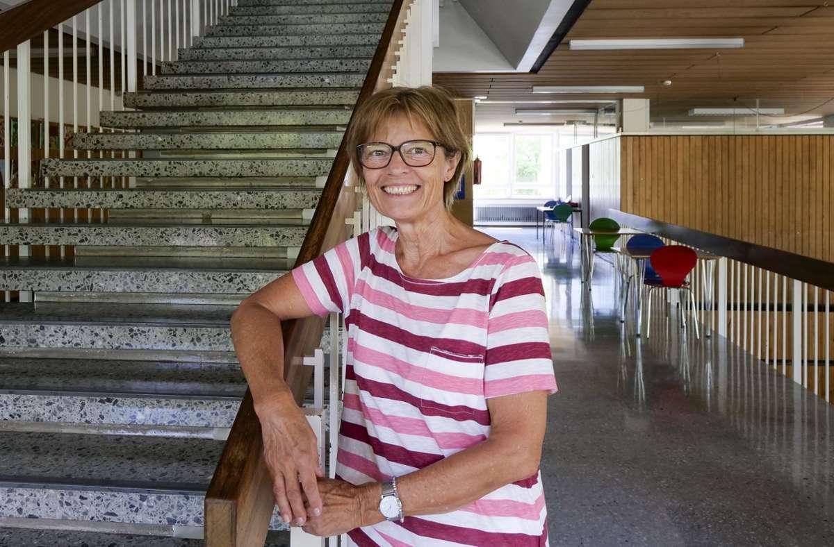 Gerlinde Risel verlässt die Breitwiesenschule in Gerlingen... . . ihre Kollegin Ulrike Allerborn die Grundschule in Ditzingen-Heimerdingen. Foto: factum/Simon Granville