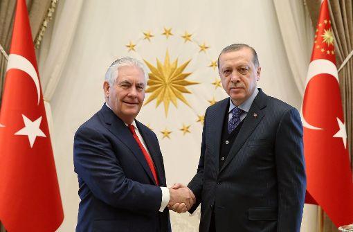 Lob für Festnahme von Erdogans Leibwächtern
