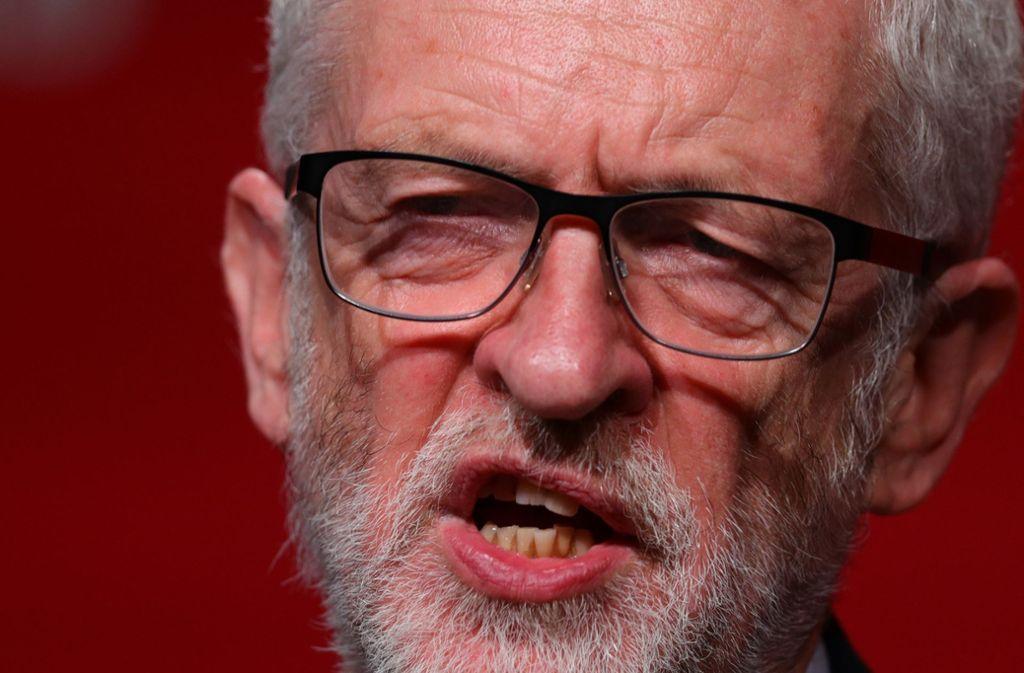 Jeremy Corbyn, der Vorsitzende der britischen Labour-Partei. Foto: PA Wire