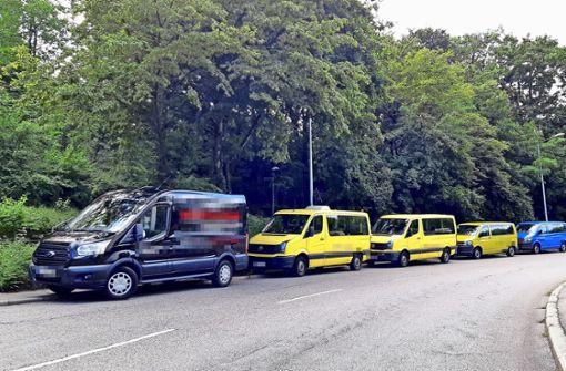 Kein Parkplatz am Bubenbad und in Gaisburg