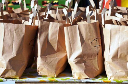 Die Handballer gehen einkaufen