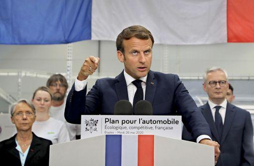 Macron setzt auf einen Neustart