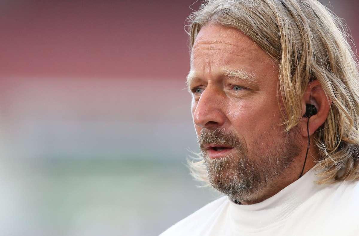 Sven Mislintat hat zum Abgang von Thomas Hitzlsperger Stellung genommen. Foto: Pressefoto Baumann/Alexander Keppler