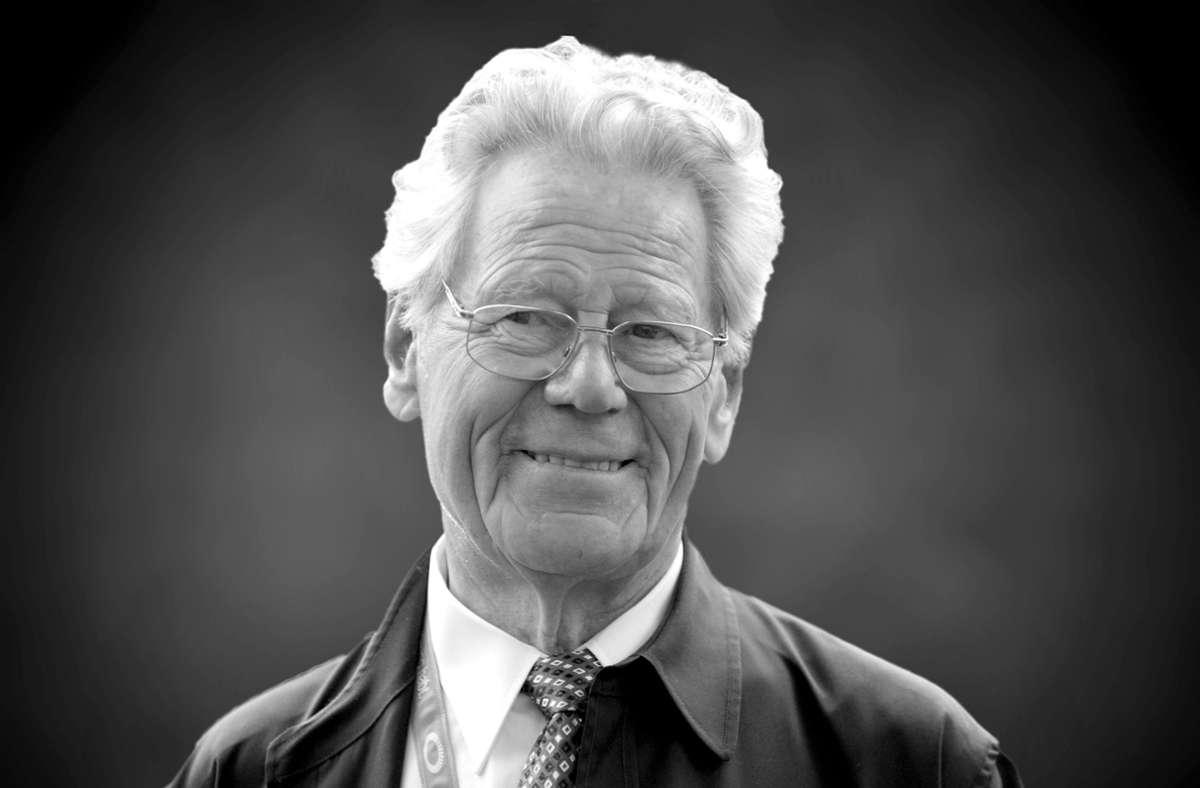 Hans Küng war am Dienstag im Alter von 93 Jahren in seinem Haus in Tübingen gestorben. Foto: SvenSimon/FrankHoermann/SVEN SIMON
