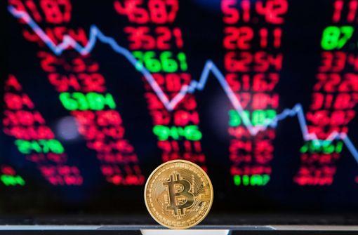 Verbot für Handel mit Kryptowährungen