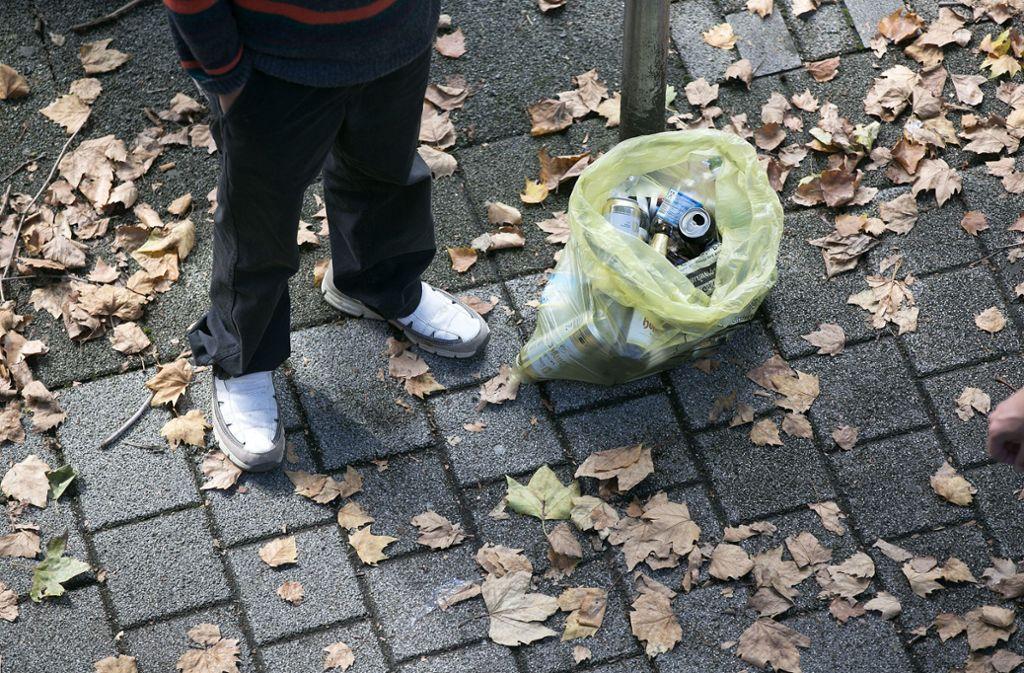 Auslöser der Eskalation war der Klau der Pfanddosen. Foto: Pressefoto Horst Rudel