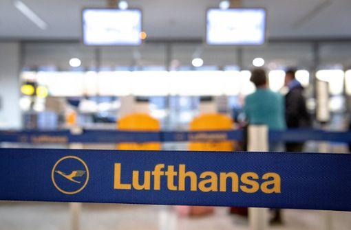 Verdachtsfall einer Lufthansa-Maschine