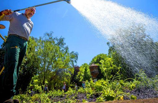 Wasserverbrauch auf Rekordniveau