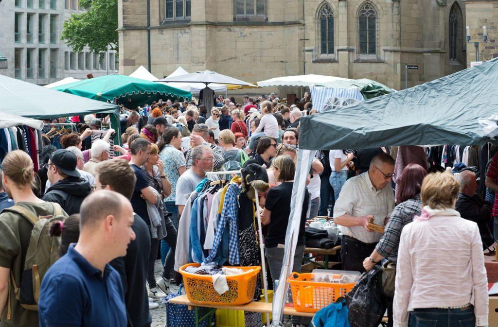 In Stuttgart und Region lohnt sich am Wochenende ein Ausflug auf einen der vielen Märkte. Foto: Lichtgut