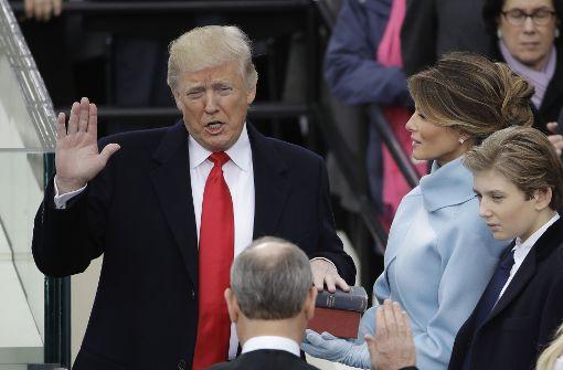 Donald Trump bekräftigt: Amerika zuerst