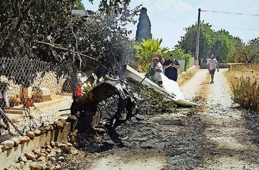Münchner Familie stirbt bei Helikopter-Crash auf Mallorca