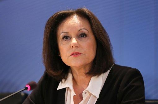 Sie ist die erste Frau an der Spitze der ARD gewesen: Foto: dpa