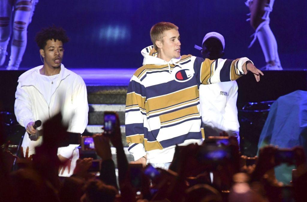 Ein an Masern erkrankter Fan hatte das Konzert von Justin Bieber in Tokio besucht. Foto: AP