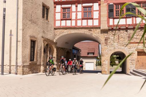 Die Tour - die wunderbar Kultur und Natur miteinander verbindet - führt auch durch Neuenstadt am Kocher.