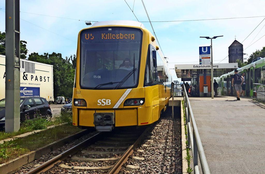 Die  Gleisstrecke  der Linie U5 soll in den Sommerferien saniert werden. Foto: Eva Funke