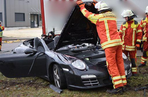 Porsche-Fahrer bei Unfall getötet
