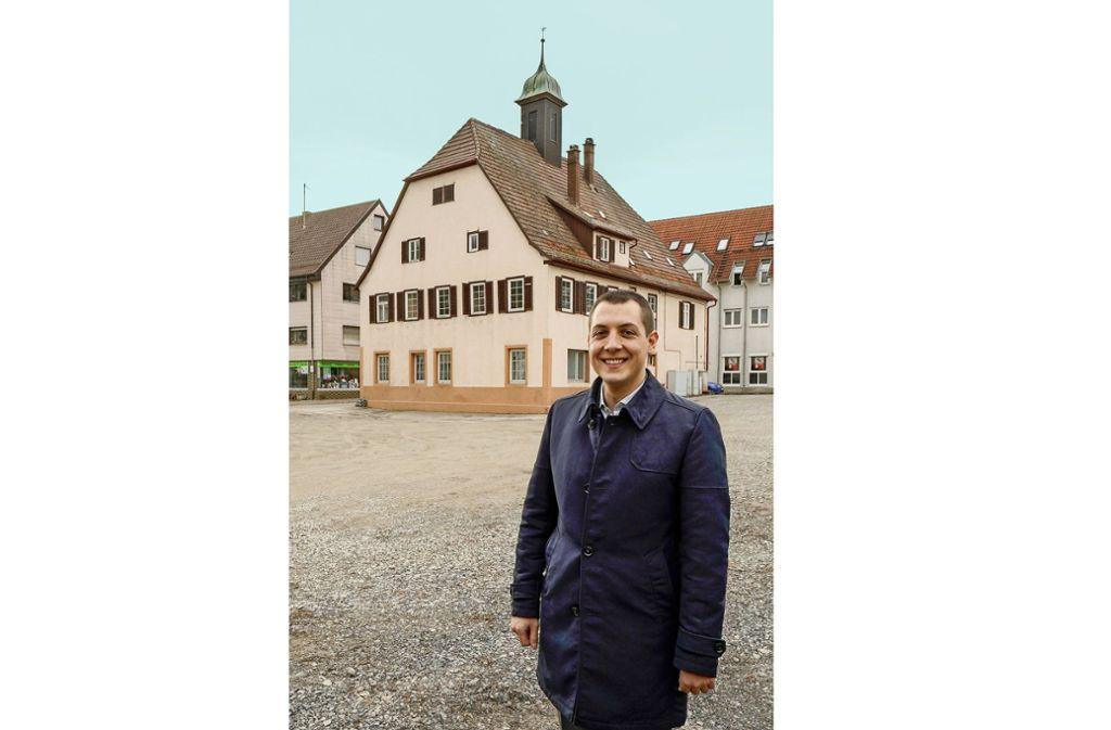 Gemeinsam mit den Bürgern will Töpfer an Ideen für den Ort arbeiten. Foto: factum/Jürgen Bach