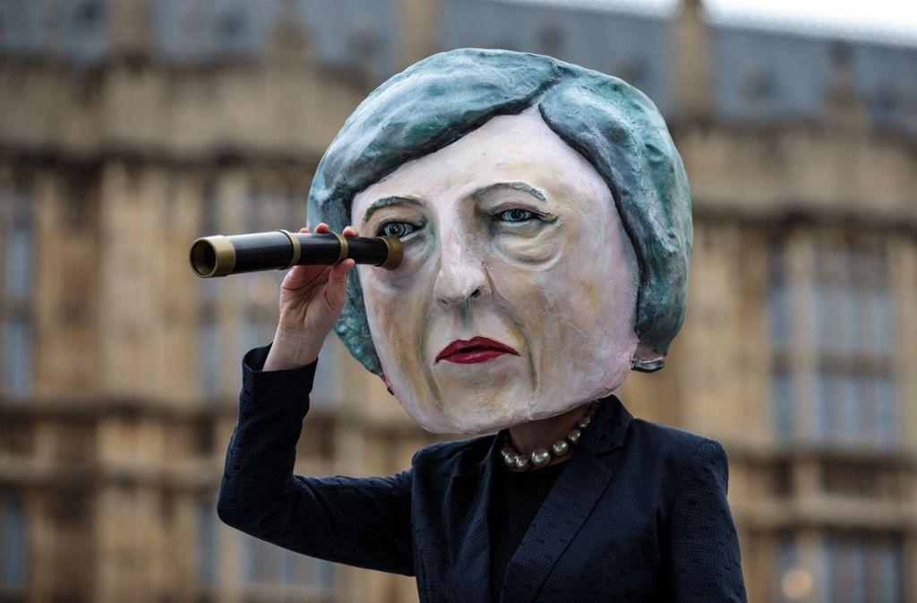 Mit Spannung erwartet: Das Votum des britischen Parlaments zum Brexit-Abkommen von Premierministerin Theresa May. Foto: Getty Images Europe