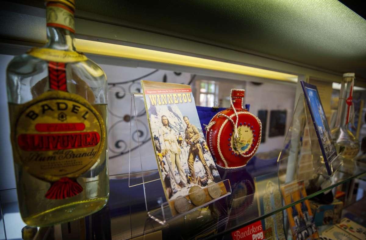 Ein hochprozentiges  Souvenir aus dem Osten: der Pflaumenbrand. Foto: Gottfried Stoppel